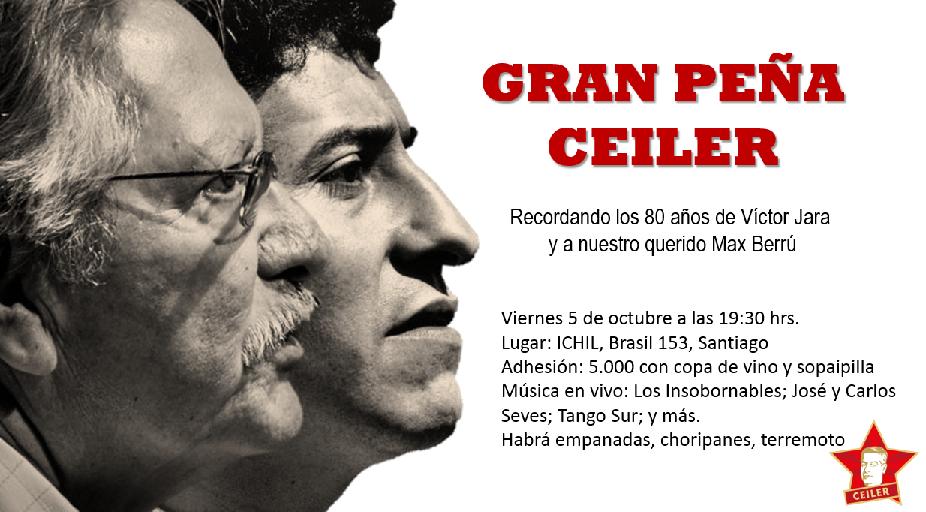 GRAN PEÑA CEILER