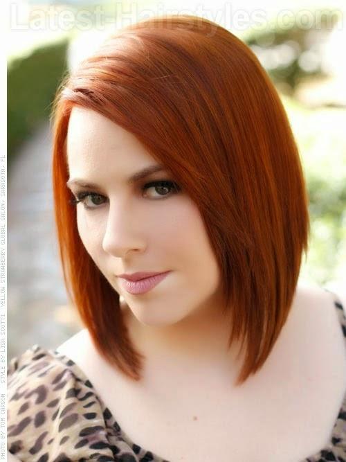 Фото причесок с рыжим цветом волос
