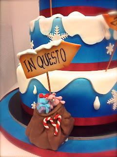 Cake Design Roma Piazza Scotti : Cake Designer: Torta Babbo Natale...