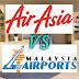 Air Asia Tuntut RM409 Juta Dari MAHB, Kerajaan Terkejut!