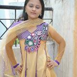 Usha Photos in Salwar Kameez at Gundello Guchi Guchi Champake Movie Press Meet 32