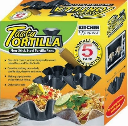 Tortilla molds.