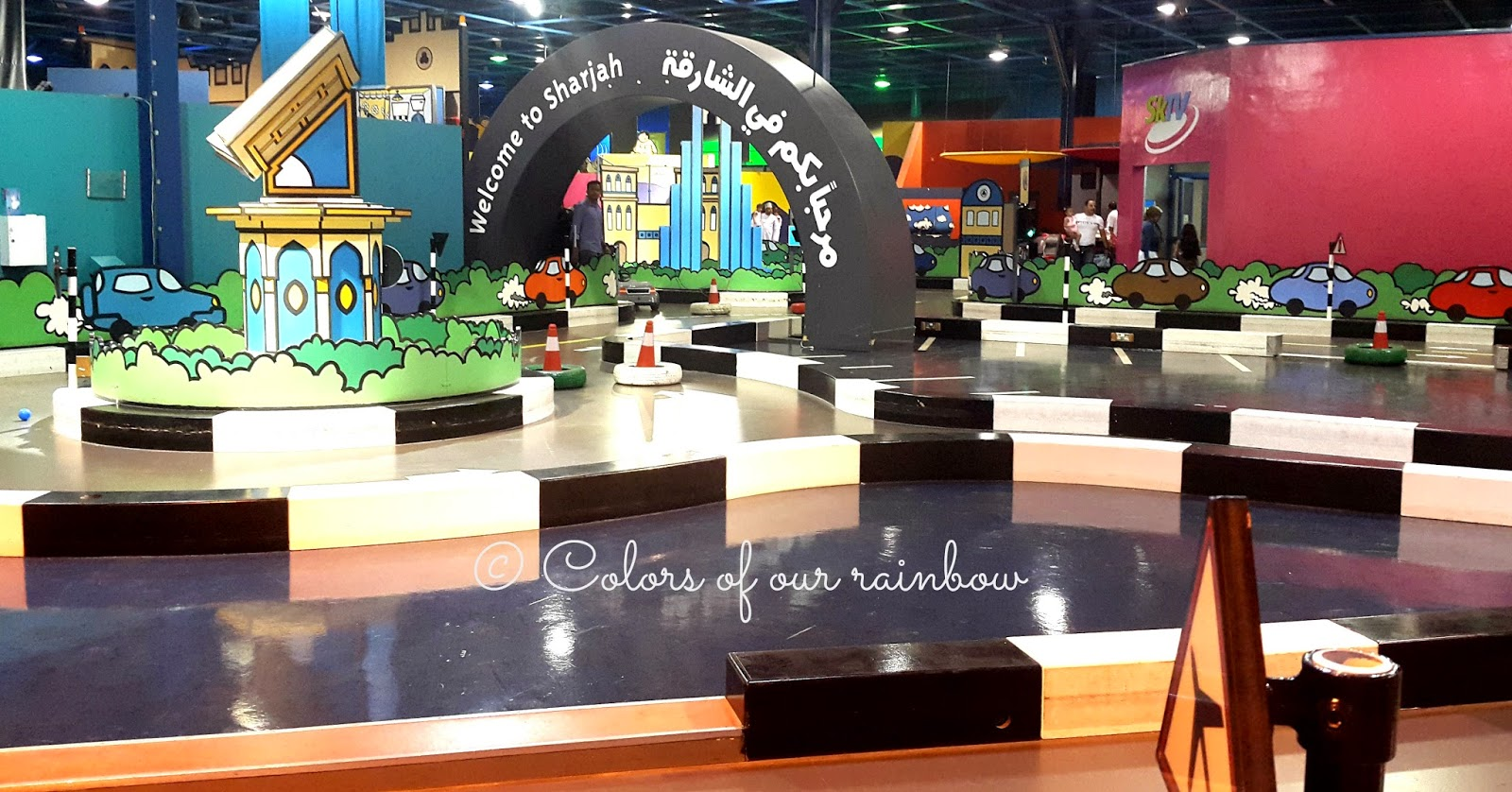 kids driving area Sharjah discovery center