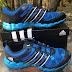 Sepatu Adventure Adidas Sport Hikers Power M18549 Blue/Black Original