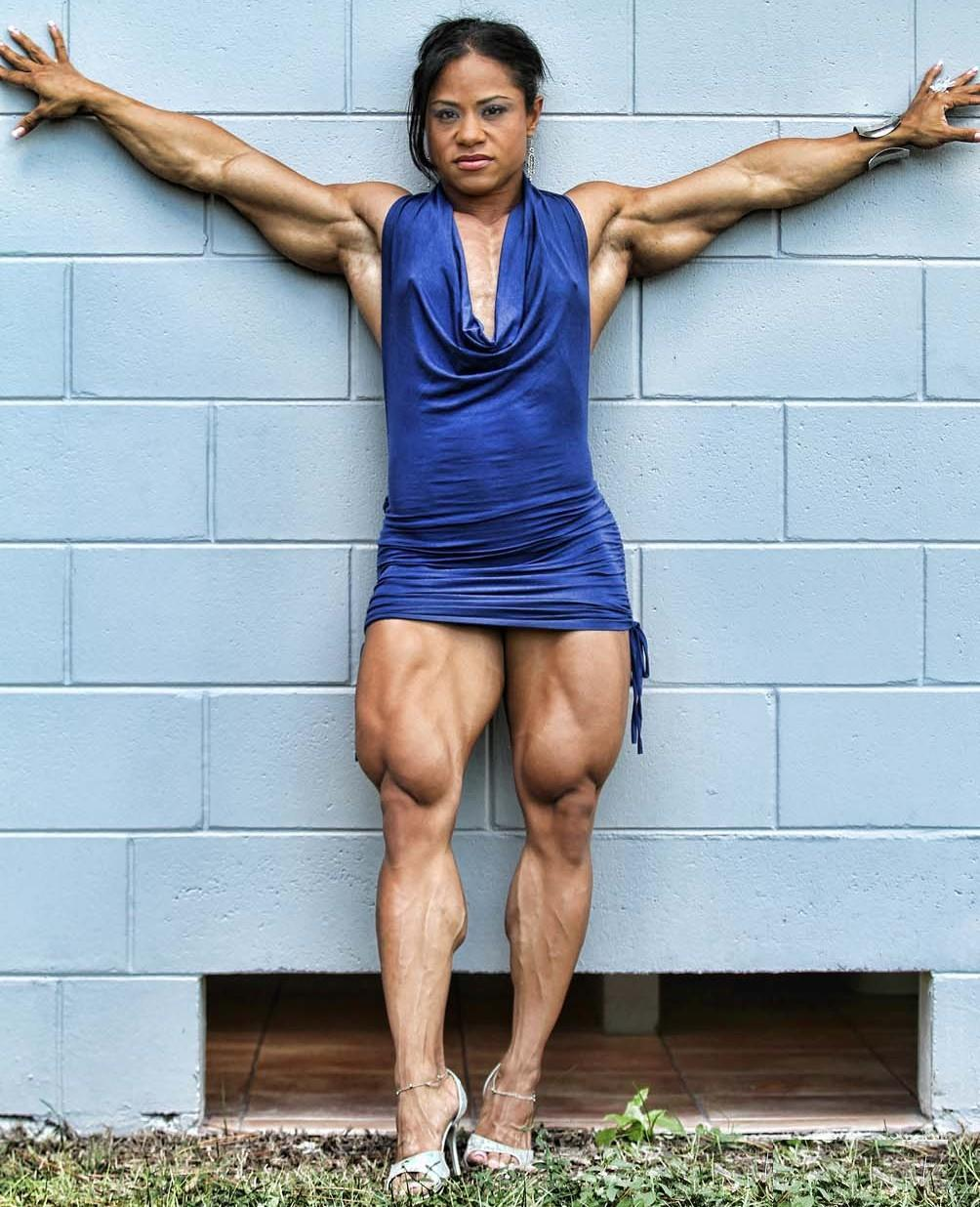 Muscle woman szex picture erotica photo