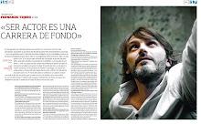 Entrevista Fernando Tejero
