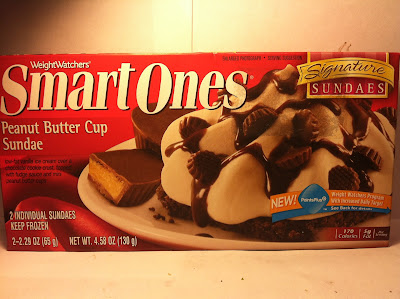 ... Food Dude: Review: Weight Watchers Smart Ones Peanut Butter Cup Sundae
