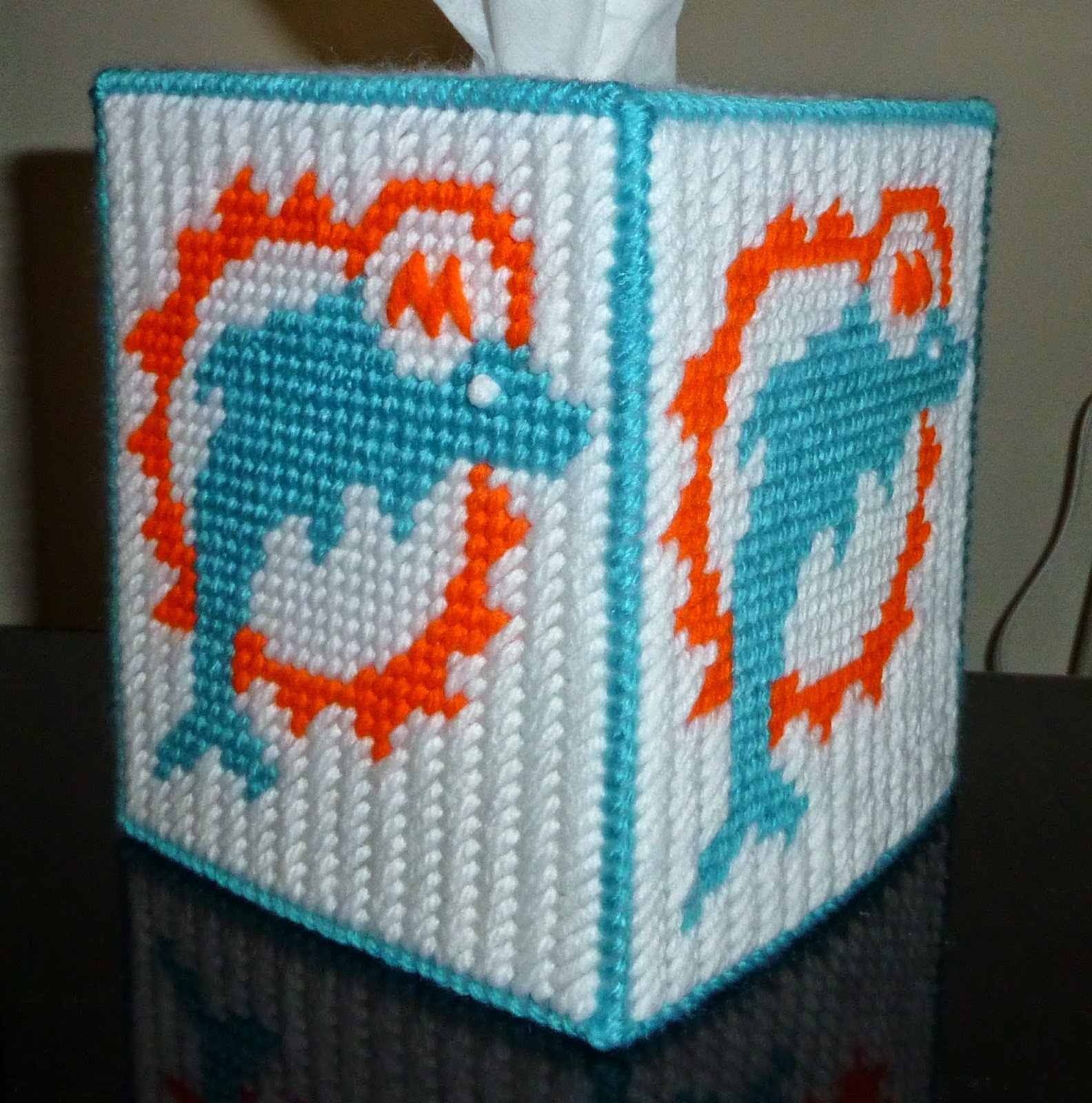 Acrylic Boxes Miami : Made from the heart crochet plastic canvas