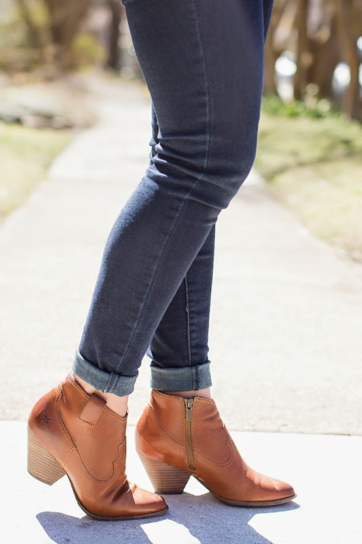 Camel Reina Ankle Bootie