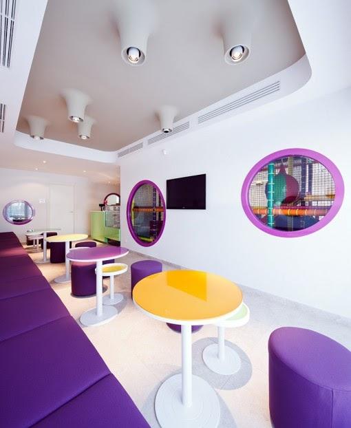 purple cafe interior designs ideas modern home design - Purple Cafe Ideas