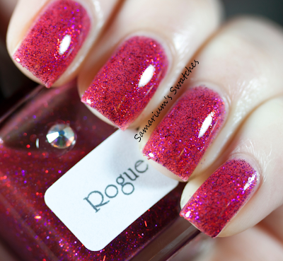 Girly Bits Rouge Swatch