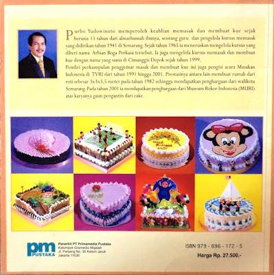 buku murah meriah: (sold out) dekorasi cake