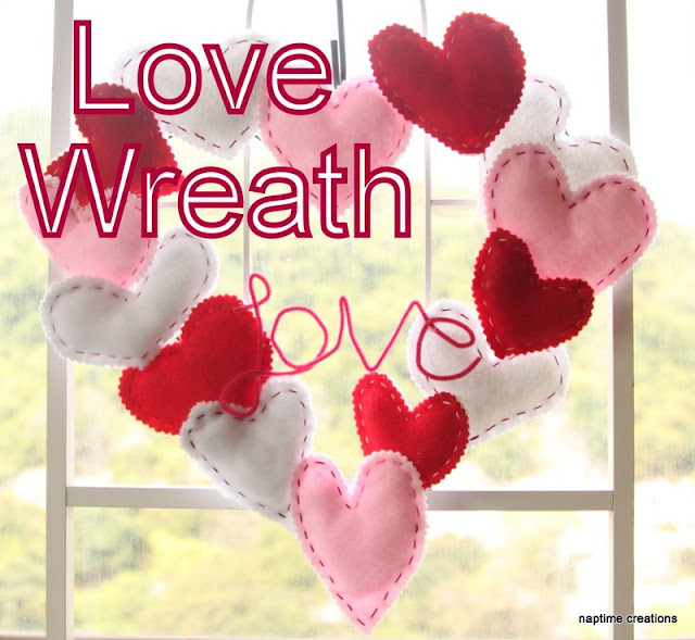 Valentines Heart Wreath