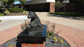 Ocelot statue, Schoolcraft College