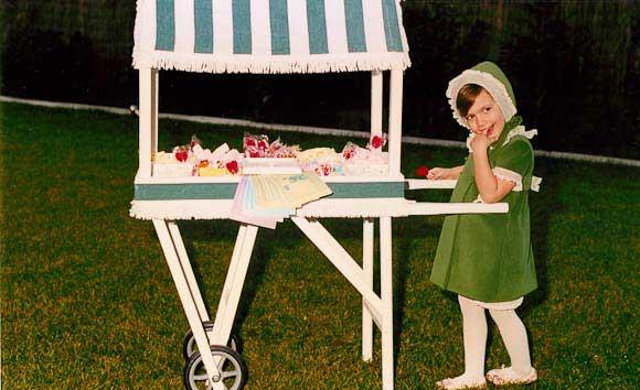 Mami te ayudo primera comuni n donde la celebro - Carro de chuches comunion ...