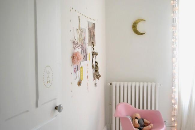 Anne claire une chambre de petite fille for Chambre petite fille blanche