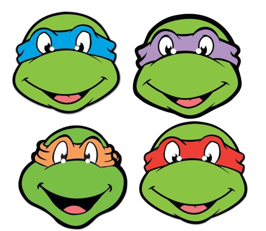 Teenage Mutant Ninja Turtles Mask Template http://jimmypshayes.blogspot.com/2013/02/sign-off-time-miss-oneil.html