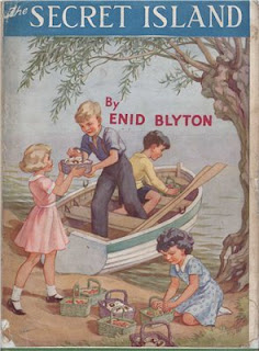 the secret island by enid blyton book cover