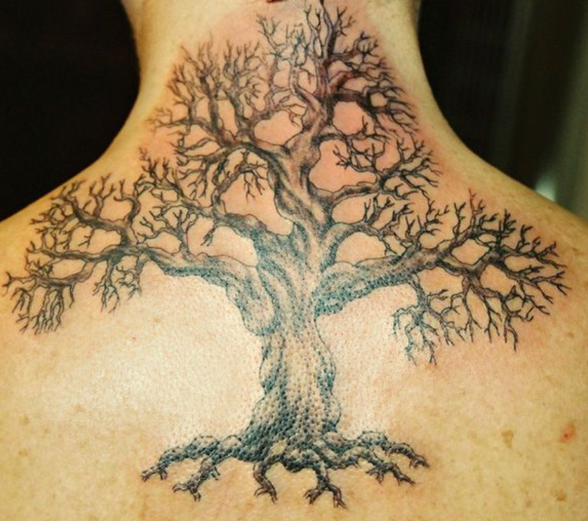 Old Tree Tattoo Designs