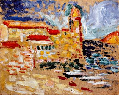 Henri Matisse - Vue de Colliuore, l'église 1905