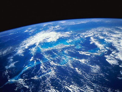 Picture of Earth from Space, UFO Sightings may be rising, but so is beautiful Earth 2012