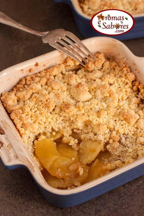 torta de maçã invertida