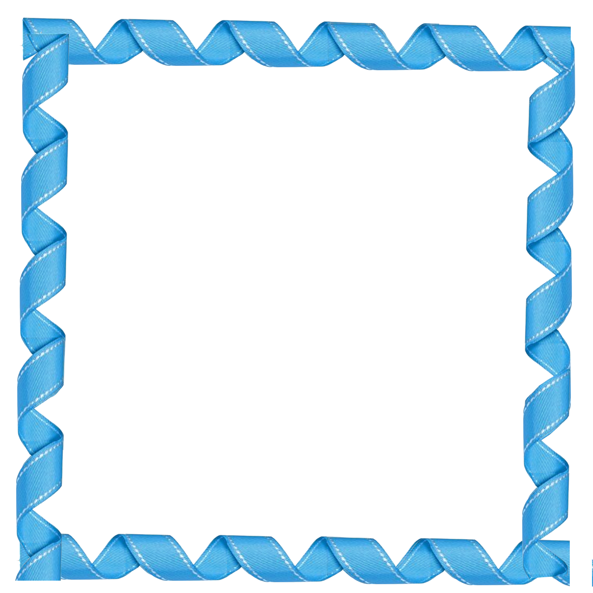 Grannyenchanted Com Free Elements Free Blue Curly Frame