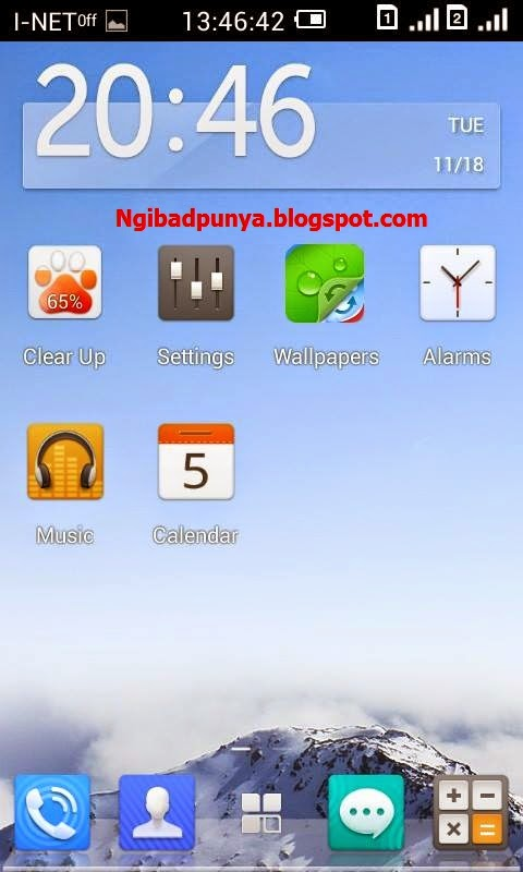 CUSTOM ROM For Lenovo a369i : R8   Ngibadpunya