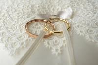 セミオーダーで作ったマリッジリング(結婚指輪)を受け取りました。