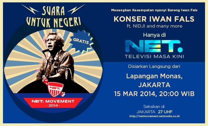 Konser Iwan Fals Jakarta