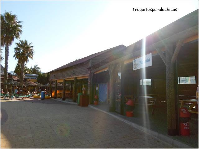 merenderos Parque acuatico bahia park