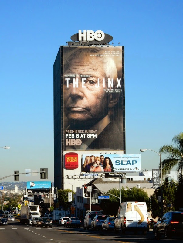The Jinx giant series premiere billboard