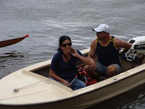LEDO BELTRAN entrenador CCR y Rosa Etchecopar Secretaria CCR