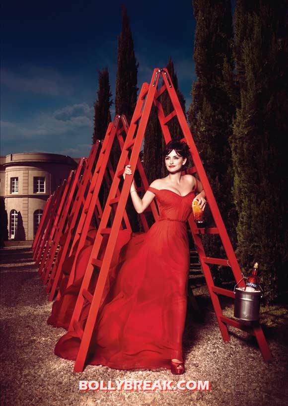Penelope Cruz for Campari - (13) - Penelope Cruz sexy Campari Calendar