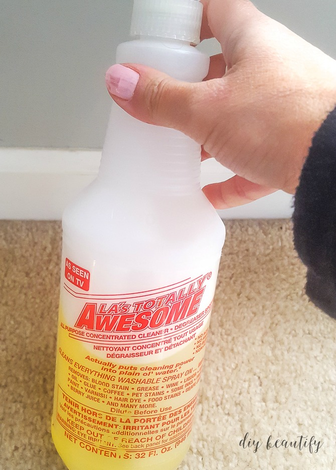 my favorite cleaning product for dirty baseboards