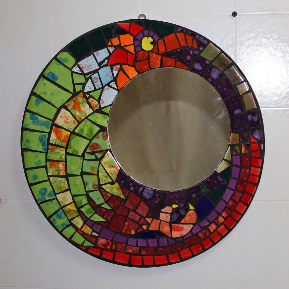Mosaicos artef ctico espejos cer mica - Espejos de ceramica ...