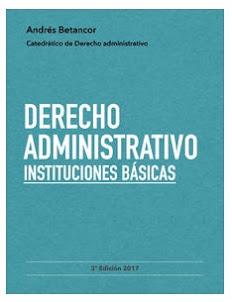 Derecho administrativo. Instituciones básicas