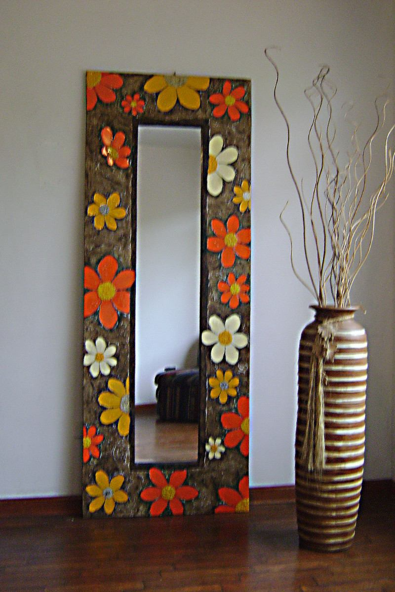 Not for boring espejos decorativos for Ideas para decorar un espejo sin marco