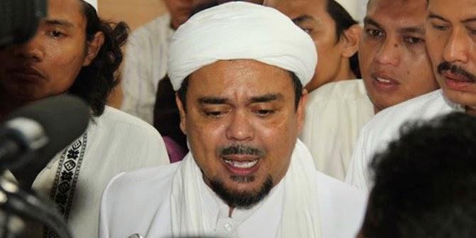 Tiga Kelompok yang Laporkan Habib Rizieq