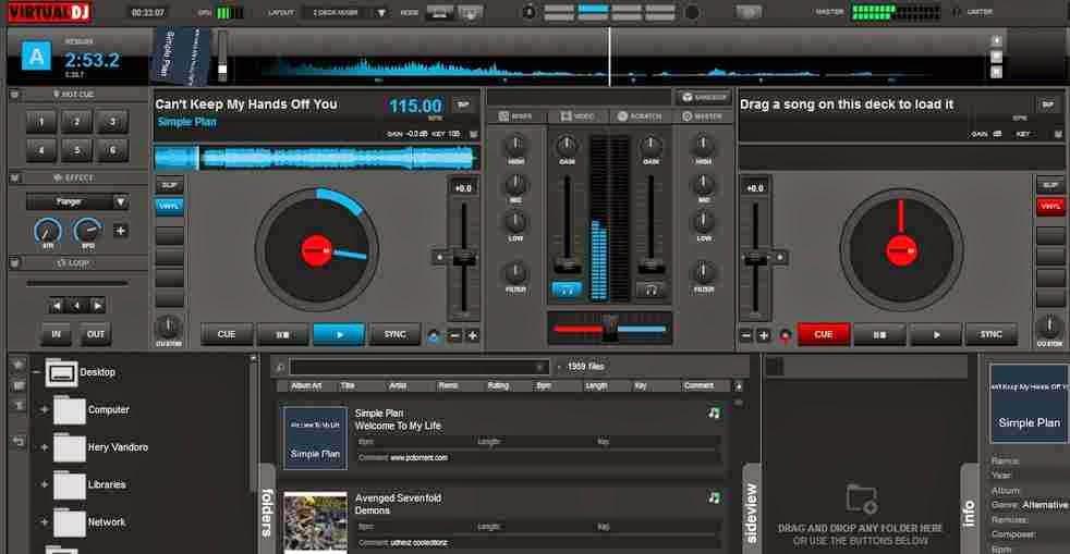 Virtual DJ Pro 8.0