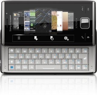 Ericsson XPERIA X2 8MP has both touchscreen and full QWERTY keypad