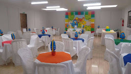 Aluguel de salão de festas e eventos em geral