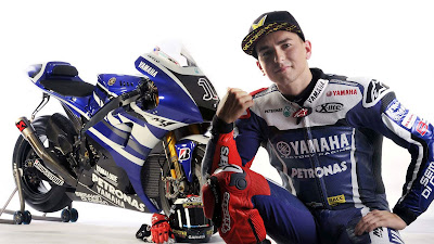 Jorge Lorenzo 2012 - Yamaha factory racing team 2012
