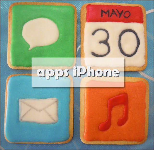 Galletas Decoradas: Galletas de apps de iPhone/iPad