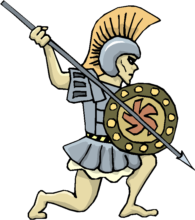 Roman Warrior Free Clipart