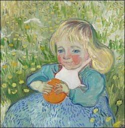 Criança com laranja - Van Gogh