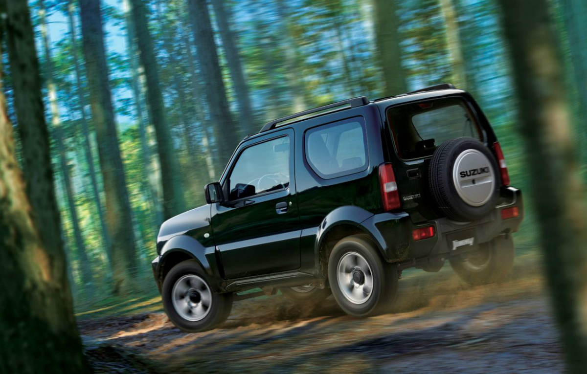 MobiLku org   Situs Otomotif No  1  New Suzuki Jimny Facelift 2013