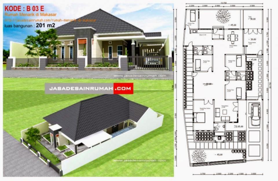 Rumah Menarik Di Makasar Jasa Desain Rumah