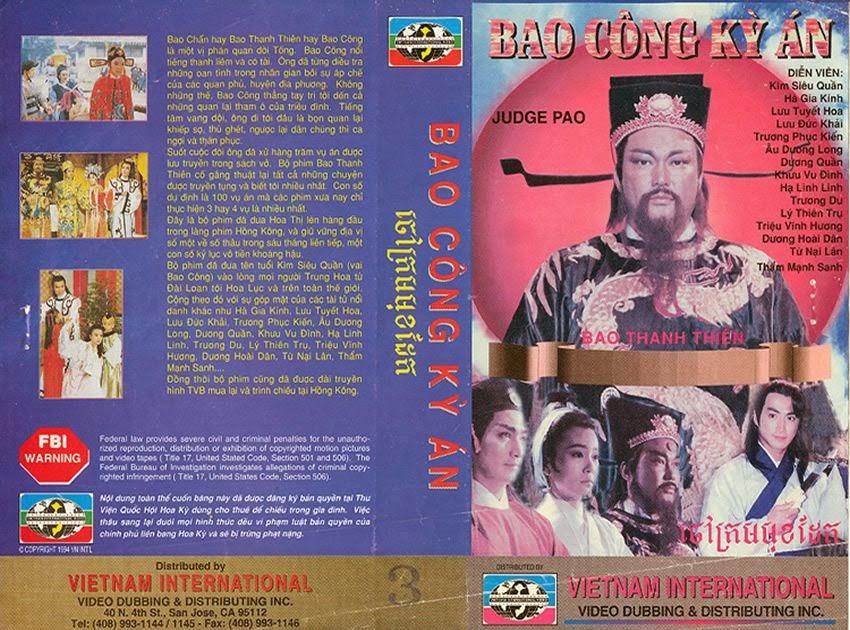 Bao Thanh Thiên Trọn Bộ 10 Phần (1993) 236 Tập DVDrip [FFVN-Lồng Tiếng]