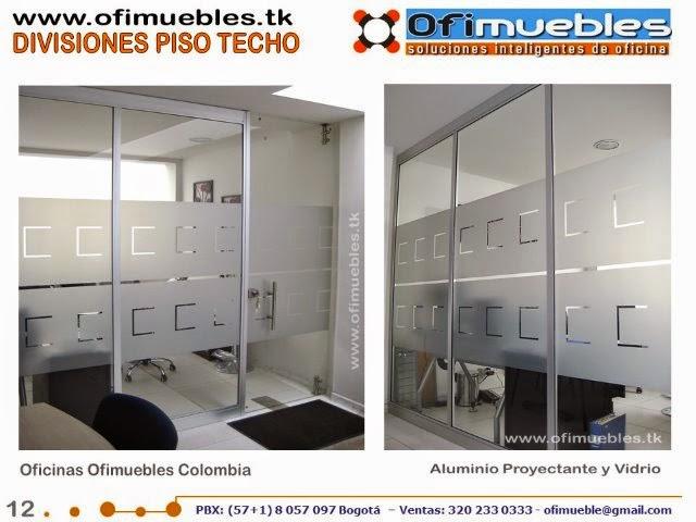 Ofimuebles colombia muebles para oficina divisiones for Muebles oficina 12 de octubre bogota